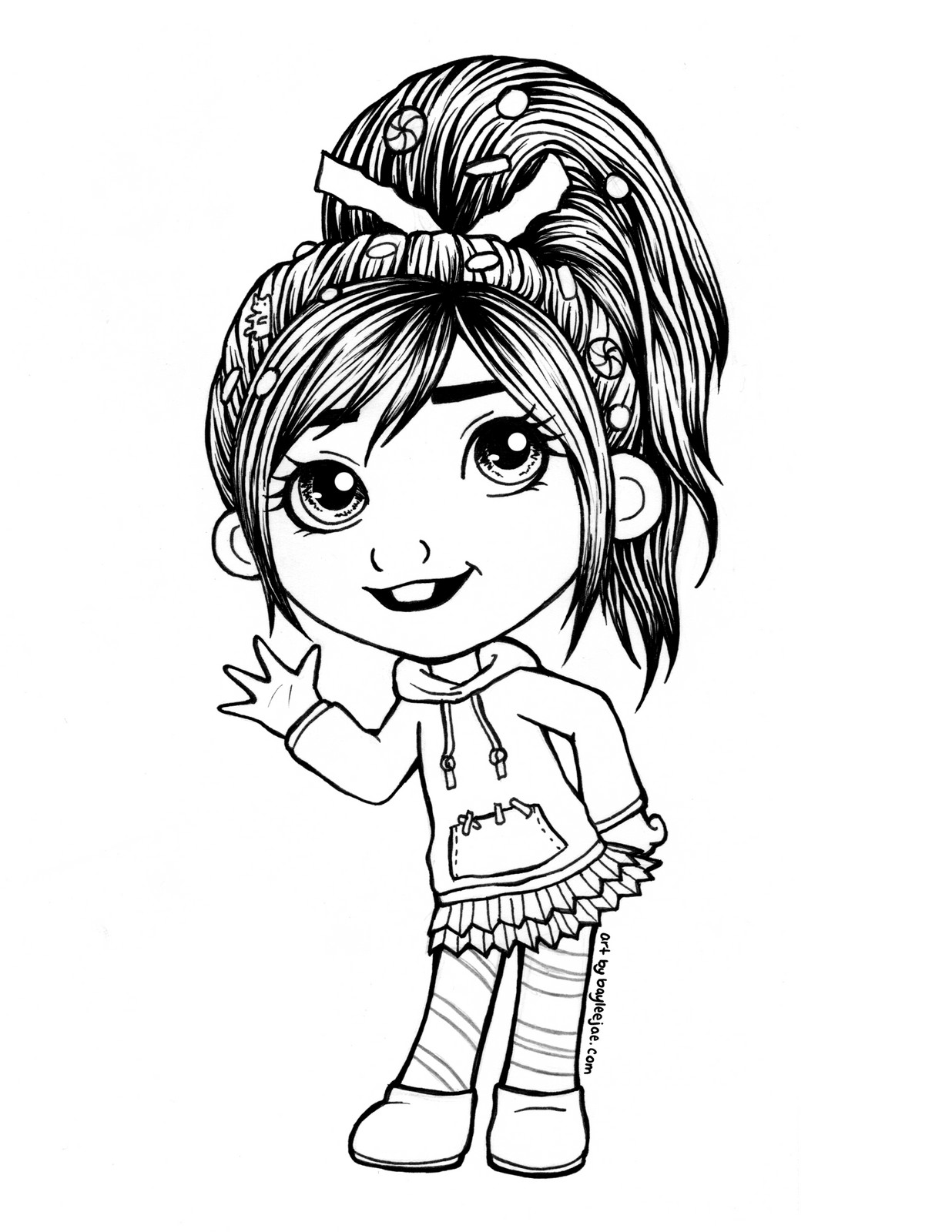 bayleejae colouring pages