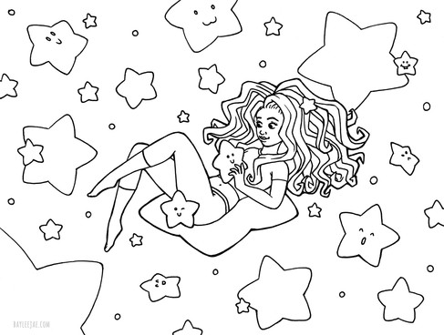 - Colouring Pages Bayleejae