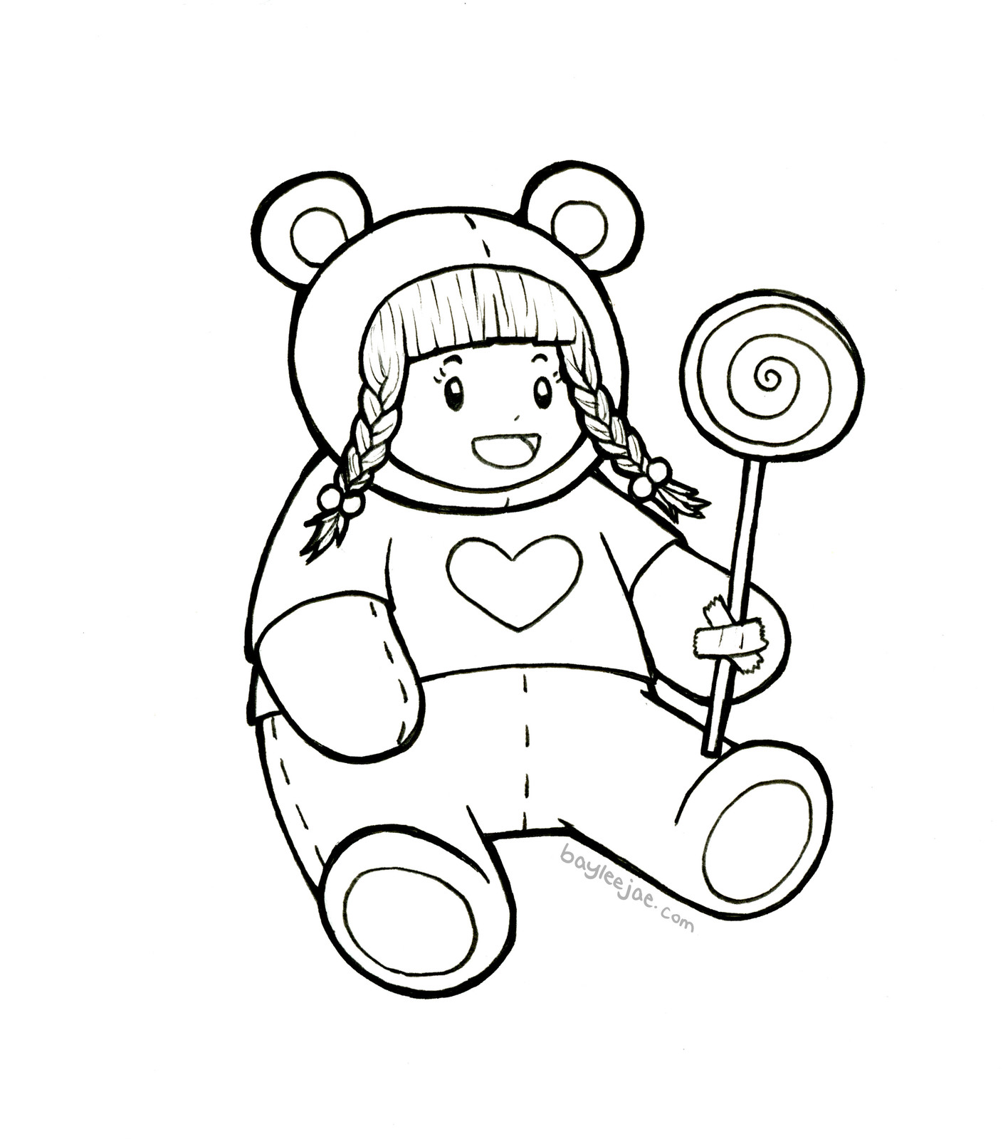 baylee jae coloring pages - photo#24