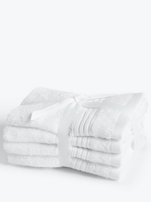 100% Cotton Cleansing Mitts