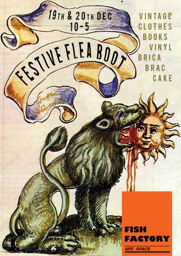 Festive Flea Boot