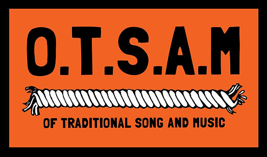 O.T.S.A.M - Of Traditional Song and Music logo showing a twisted rope