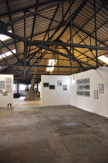 Gallery in the old Fish Factory