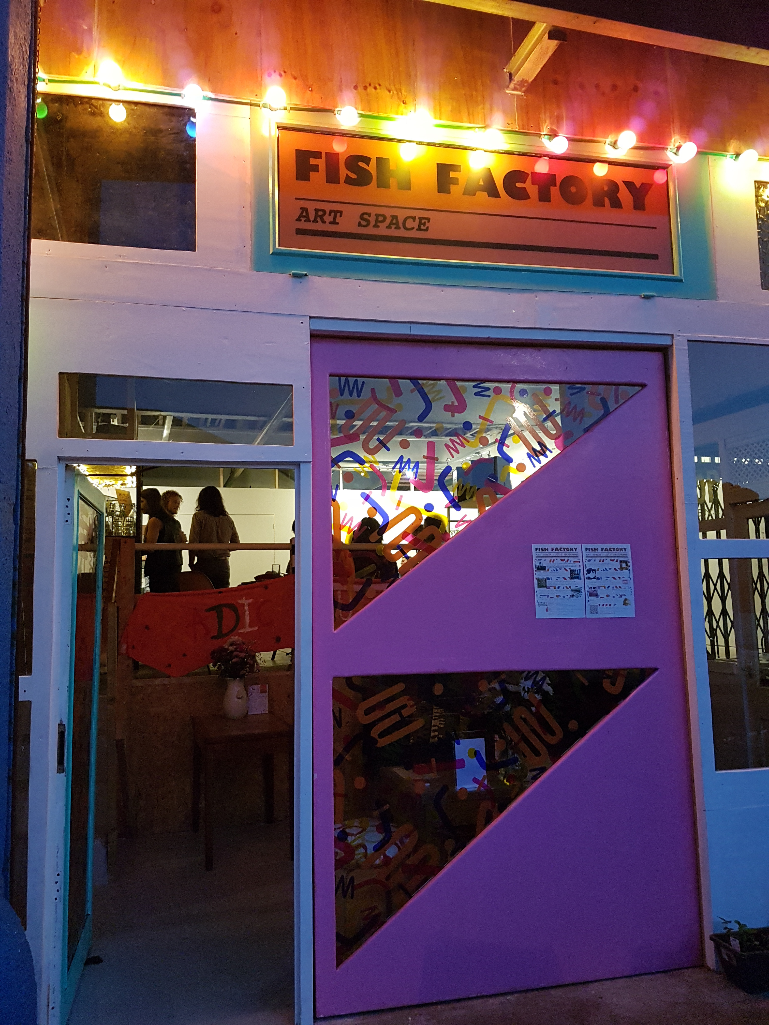 WHAT'S ON | Fish Factory Art Space: Studios, Gallery, Shop