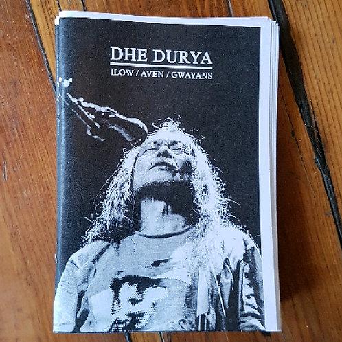 Chris Trevenna - Dhe Durya Zine