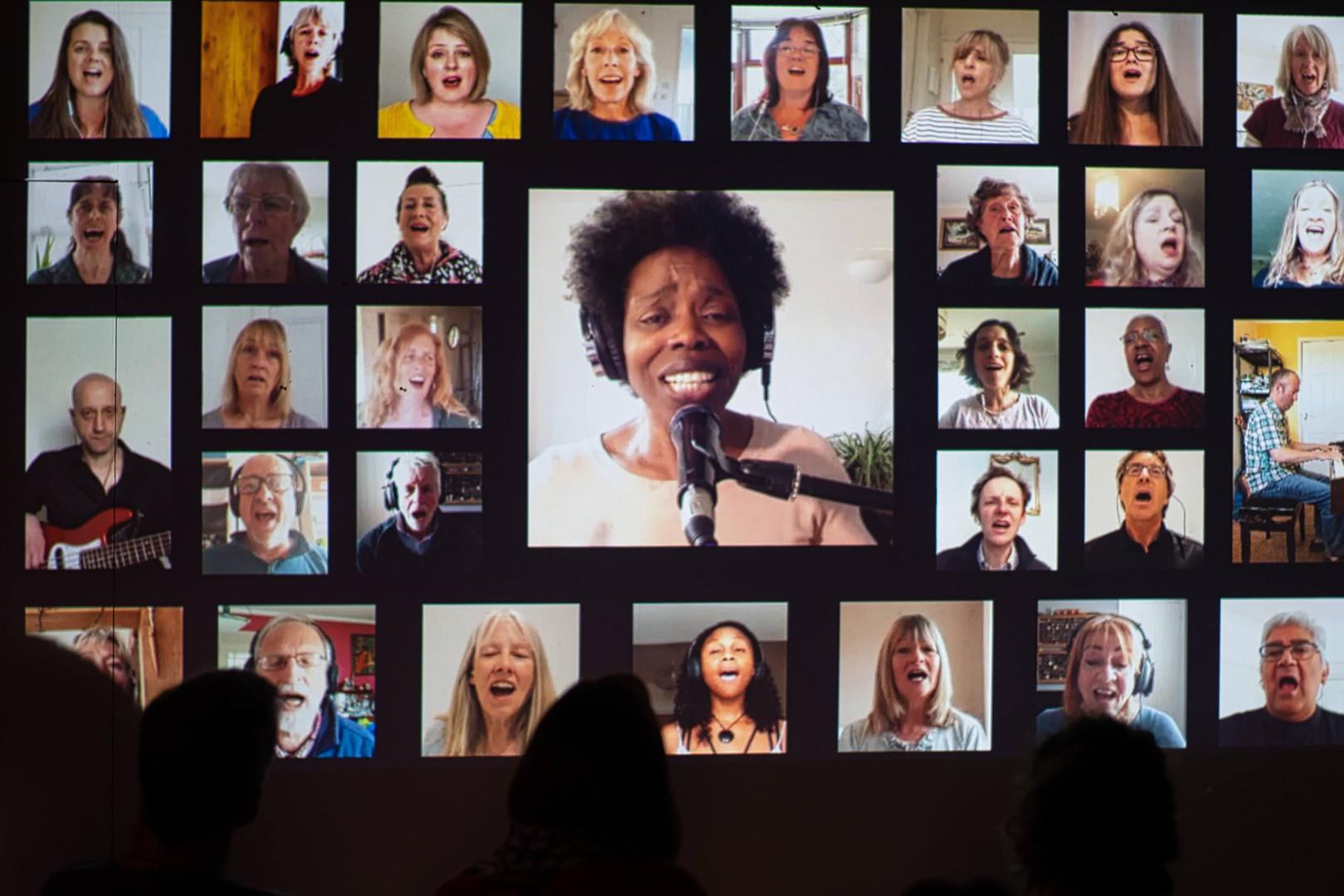 Virtual Performance by Falmouth Gospel C