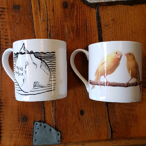 Camilla Stacey Mugs