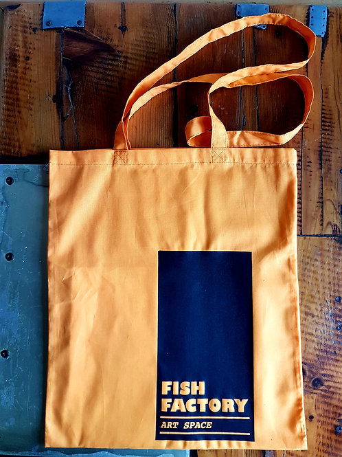 Fish Factory Tote Bag