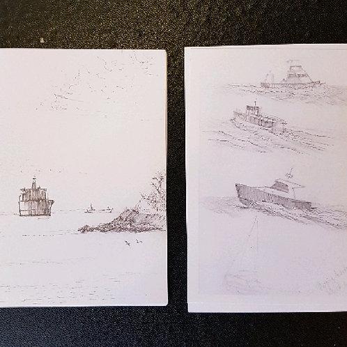 Len Hatcher cards
