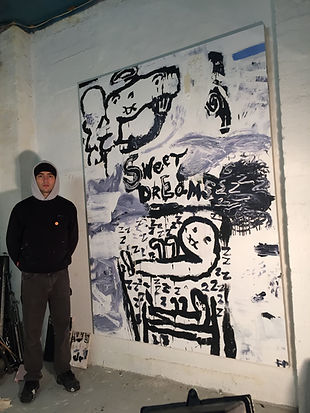 Fergus Polglase Studio Artist Exhibition