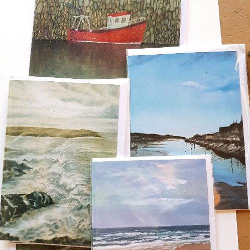 Robin Falvey card (various designs)