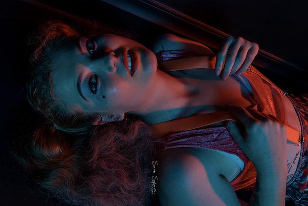 Chey, Boudoir, Cosplay, Harley Quinn, Model, Nova Photography Hub, Sean Sylvester Photography