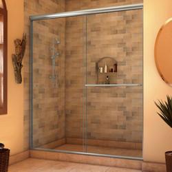 Silhouette Sliding Shower Door