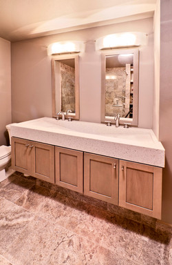 Corian Trough Sink