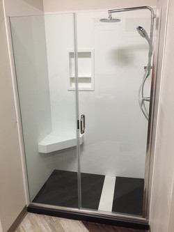 Concealed Drain Shower