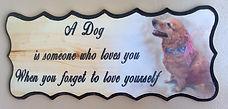 Custom Pet Plaque