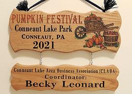 Custom Pumpkin Fest Sign