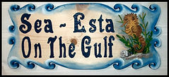 Sea Shore Custom Sign