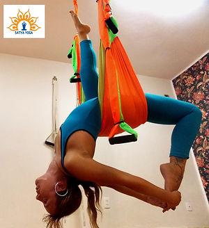 Air Yoga - Satya Yoga Air - Elaine Lilli
