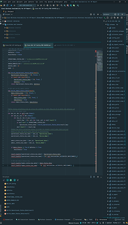 Example report code in PyCharm IDE.png