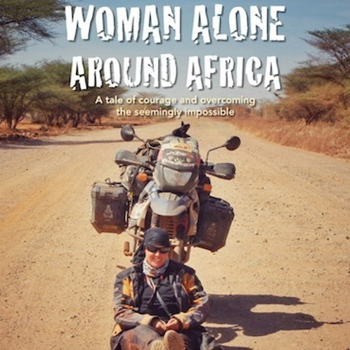 Book - Woman Alone Around Africa ($10)