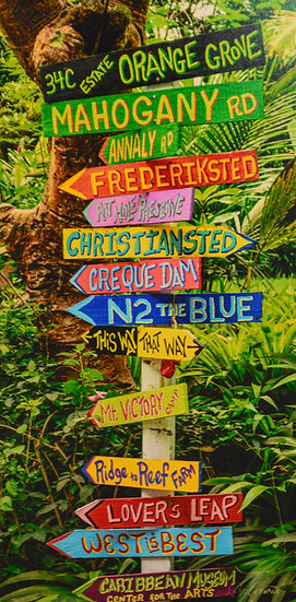 Rain Forest Sign