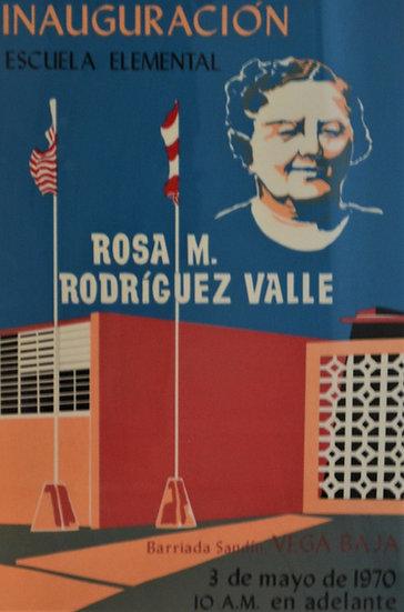 Inauguracion Escuela Elemental Rosa M. Rodriguez Valle