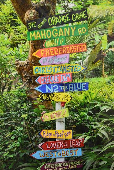 Rainforest Sign
