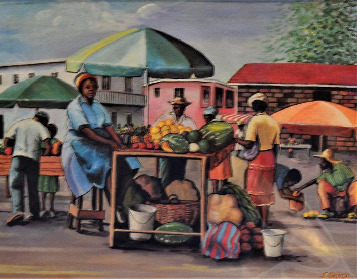 Market Day Print
