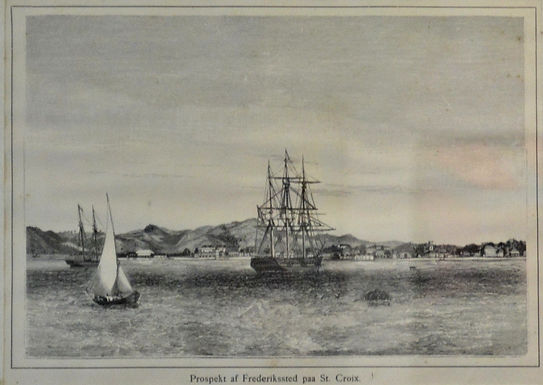 Frederiksted Prospect Lithograph