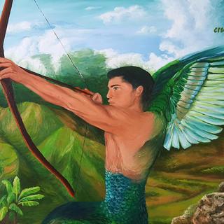 Hummingbird Angel