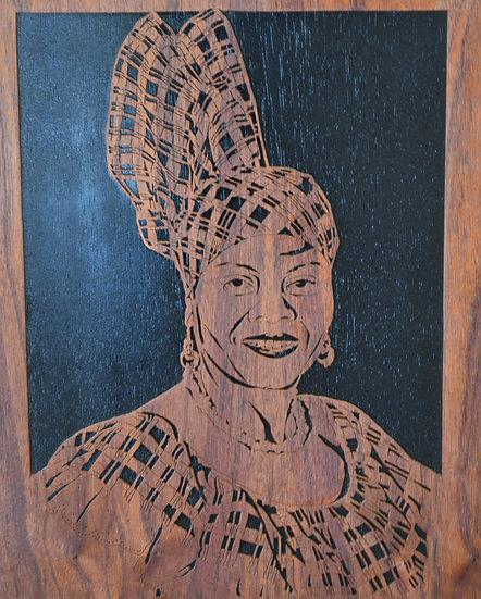 De' Caribbean Woman Portrait