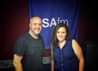 Jo Interviewed on Radio SAFM