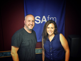 Jo Interviewed on Radio SAFM