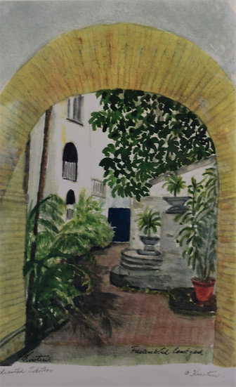 Frederiksted Courtyard