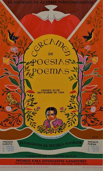 Certamen de Poesias y Poemas