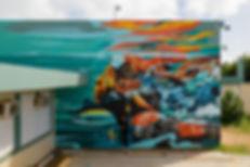 dragon76art, Sea Walls St. Croix