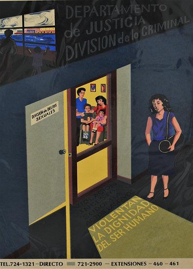 Departmento de Justicia Division de lo Criminal