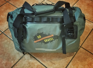 Testing the new GoGravel Duffel Bag