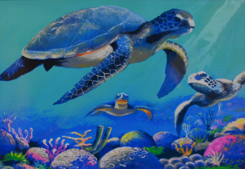 Three Turtles Print