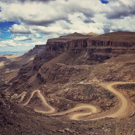 The famed Sani Pass