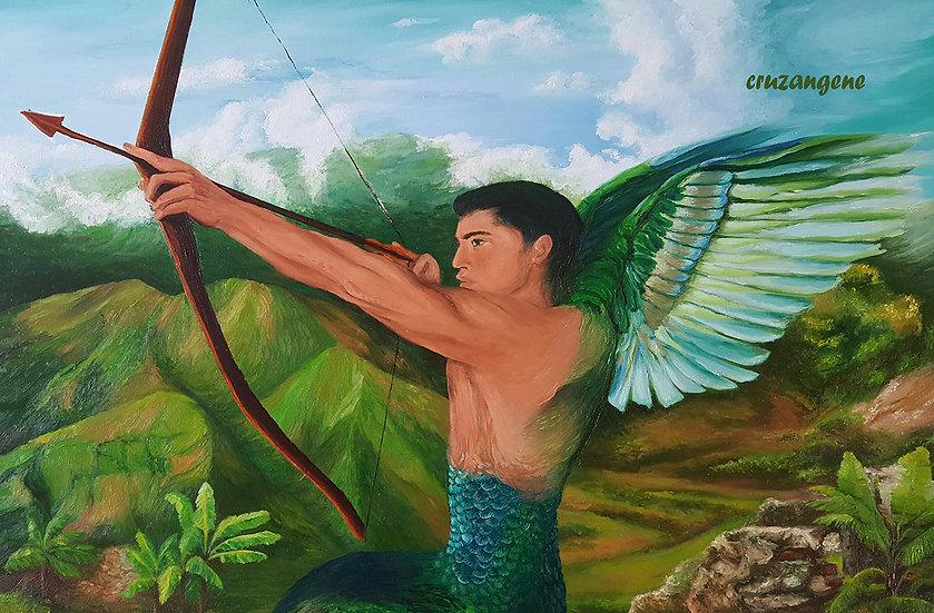 The Hummingbird Angel