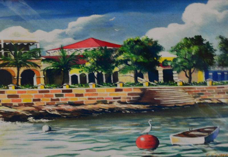 Frederiksted Print