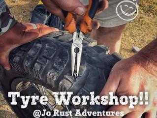Motorcycle Tyre Repair Workshop