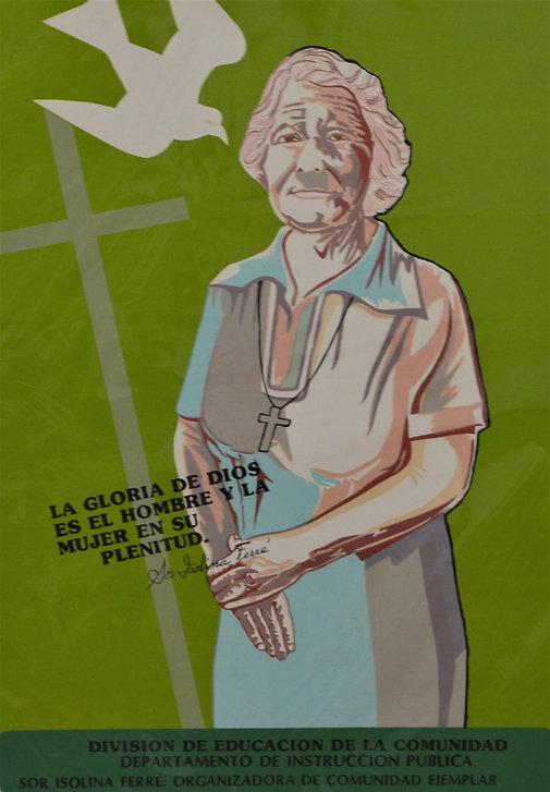 Organizadora de Comunidad Ejemplar, Group Project by artist from Division de Educacion de la Comunidad