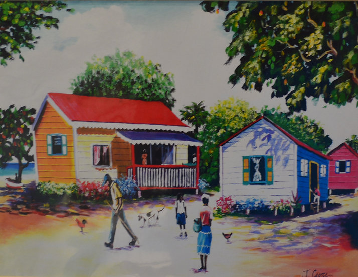 Cottages Print