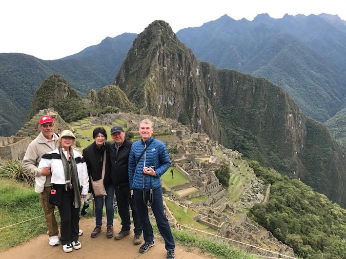 The famous Machu Picchu