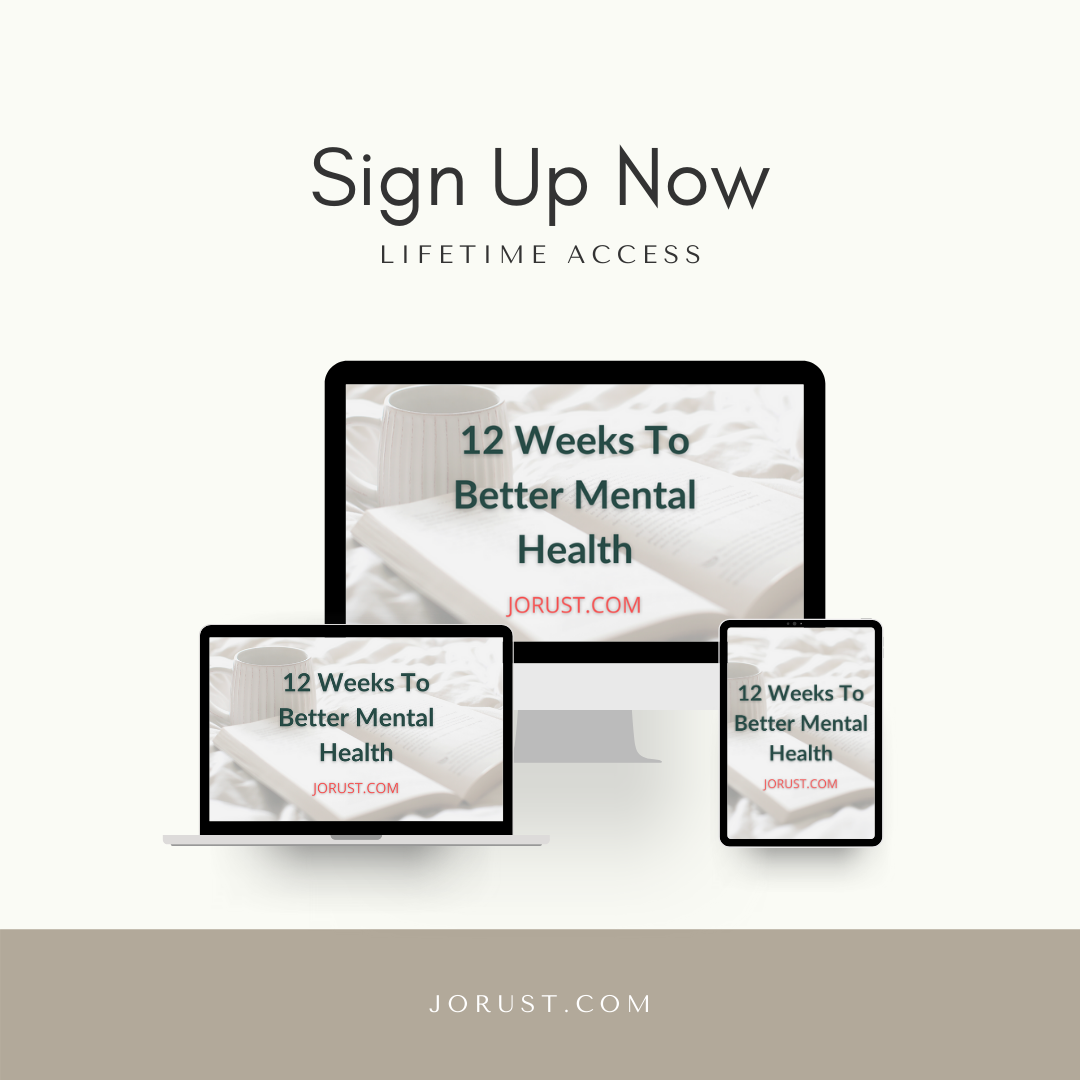 12 Weeks To Better Mental Health Course