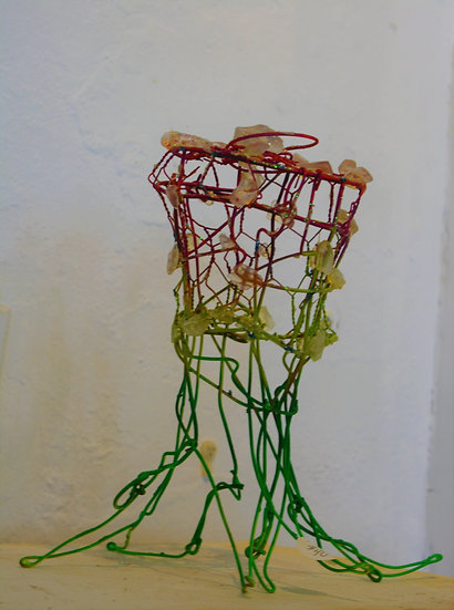 Jellyfish Wire Sculpture