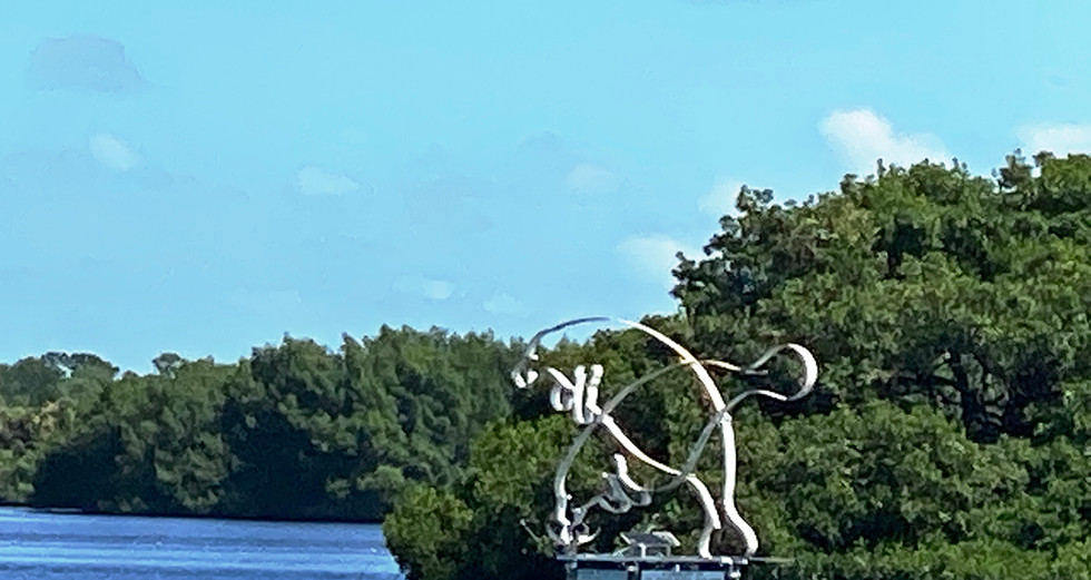 Manatee Sculpture